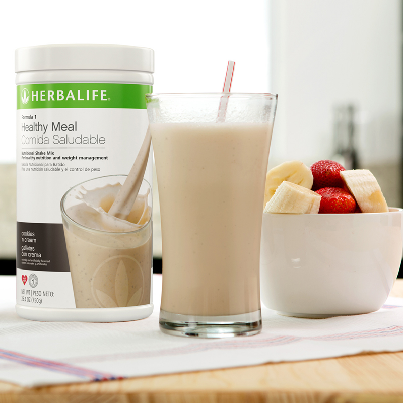 Herbalife Formula 1 Meal Replacement Shake Mix with 21 ...
